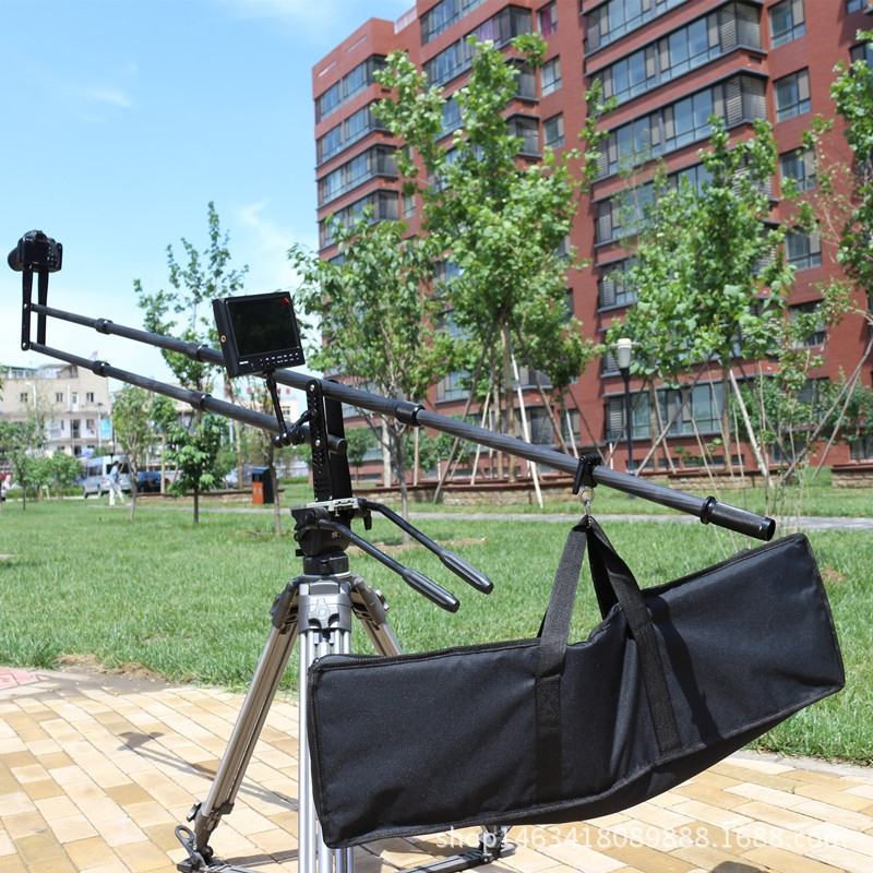 328.15$  Watch now - http://aliax7.worldwells.pw/go.php?t=32746927121 - professional carbon fiber camera crane jib arm for dslr camera and  camcorders Portable camera accessories flexible rocker CD50