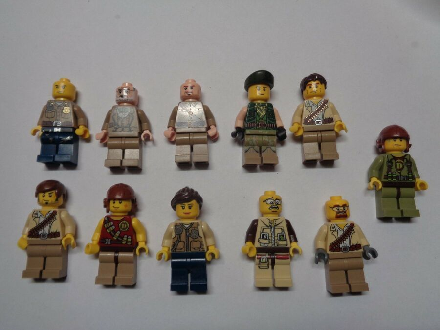 LEGO Castle Personnage Figurine Minifig Choose Model
