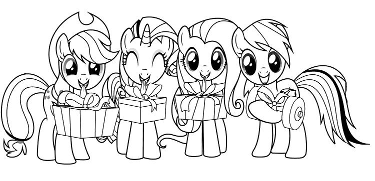 My Little Pony Coloring Pages Twilight Sparkle And Friends My Little Pony Coloring Unicorn Coloring Pages Coloring Pages