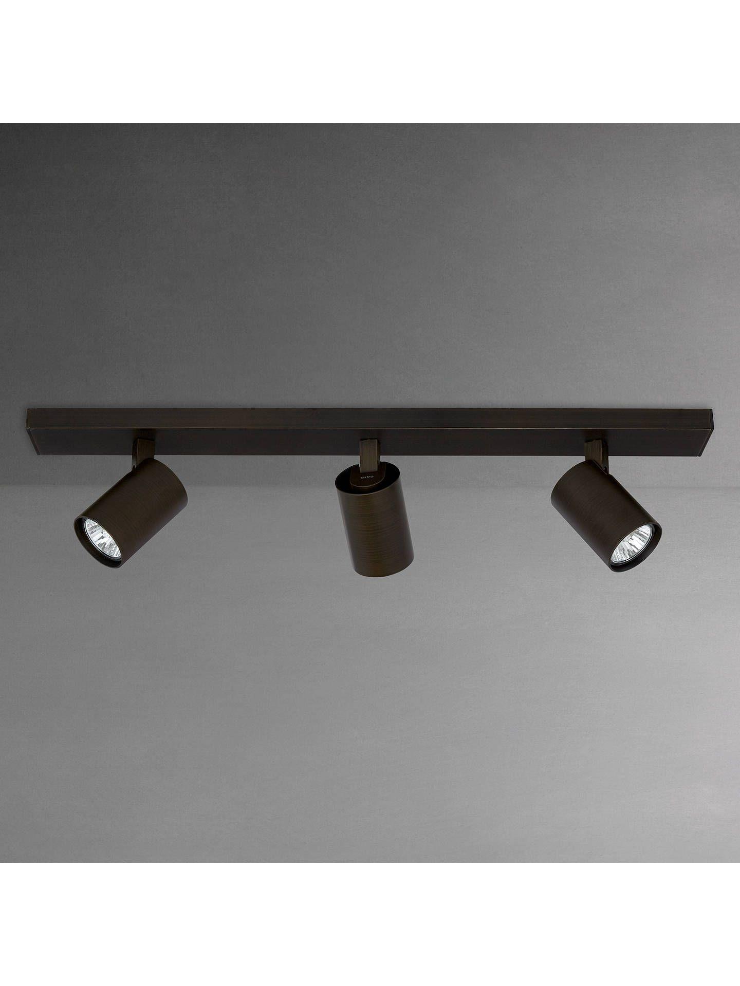 Astro Ascoli 3 Spotlight Ceiling Bar Bronze Attic Rooms