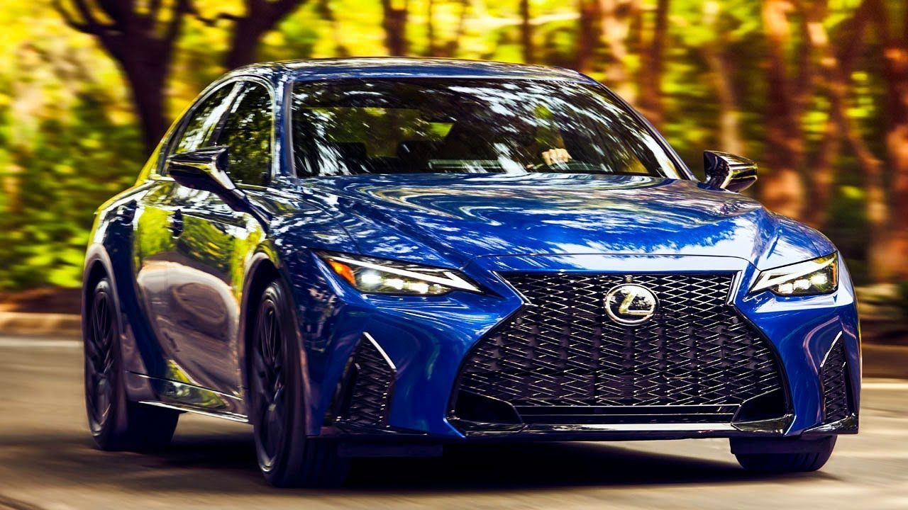 New 2021 Lexus Is 350 F Sport Interior Exterior Drive Ultrasonic Blue Lexus Cars Lexus Lexus Sport