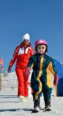 Ski lessons for the little ones - ESF Méribel