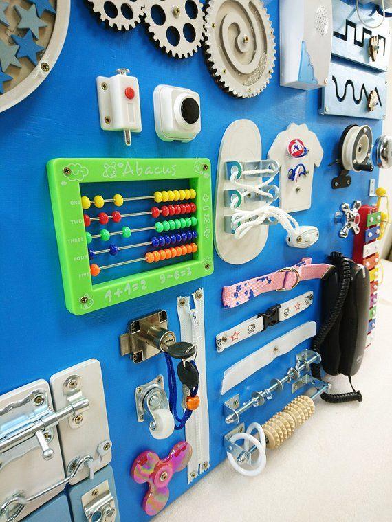 BESTSELLER! Toddler busy board Activity board for toddler ...