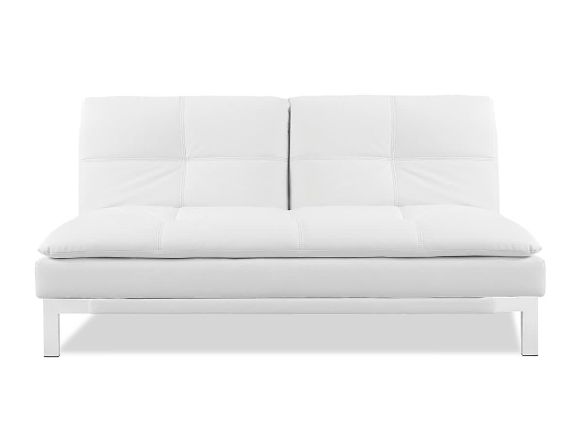 Open box brenem convertible sofa white by serta lifestyle chris