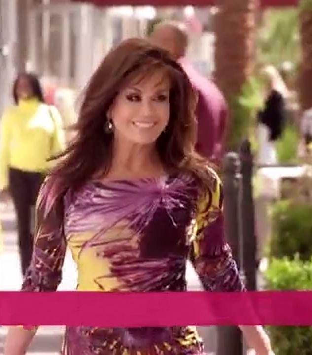 Love the colors of her dress from a nutrisystem ad marie osmond