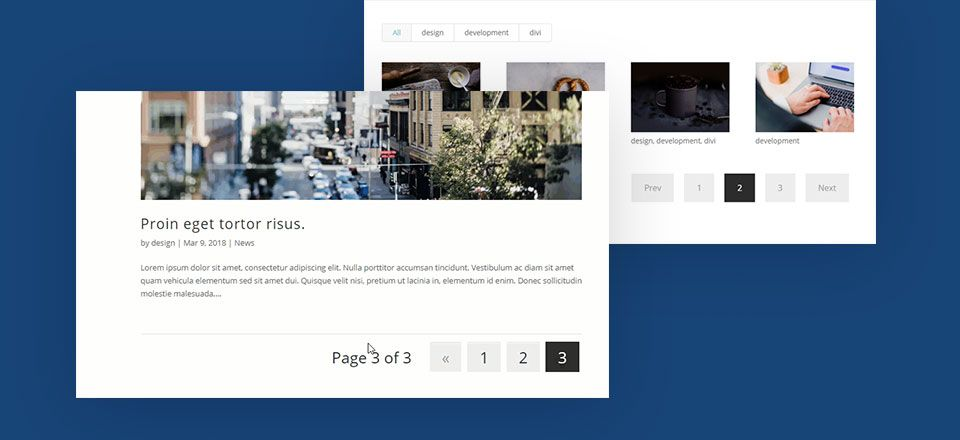 A Handy Guide On How To Style Pagination In Divi Web Design Tutorials Web Design Seo Marketing