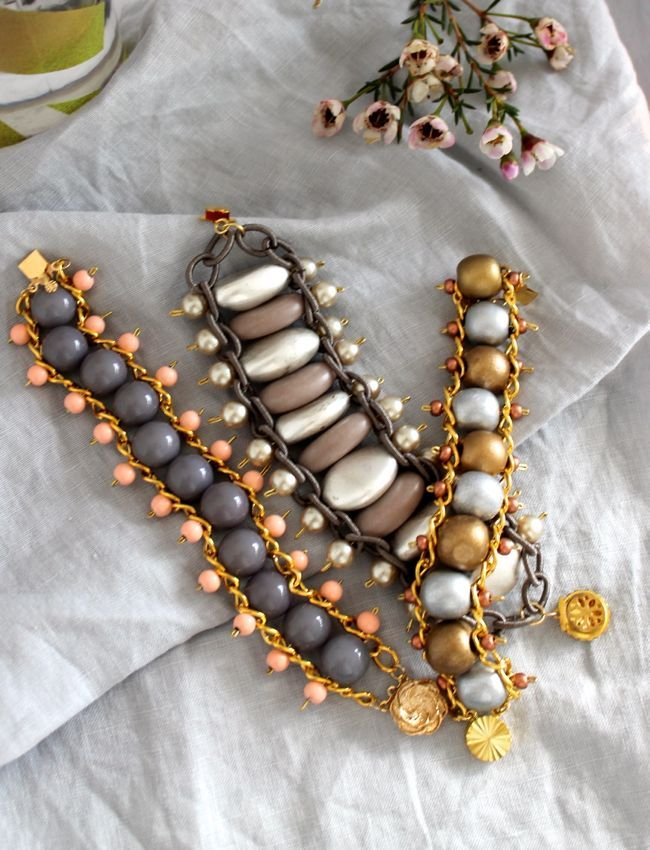 Diy bead chain bracelet chains beads and bracelets diy bead chain bracelet solutioingenieria Choice Image