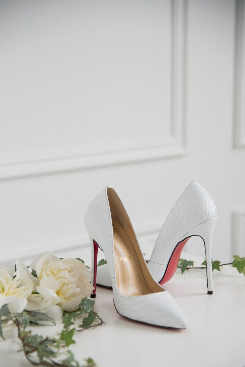 on sale bfc96 08cbe Luxe Emerald Wedding Inspiration | wedding shoes | White ...