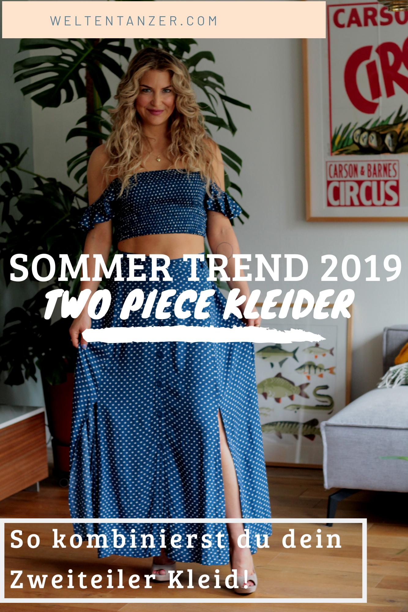 Sommer-Trend 2019: Zweiteilige Kleider Wir zeigen Dir, wie ...