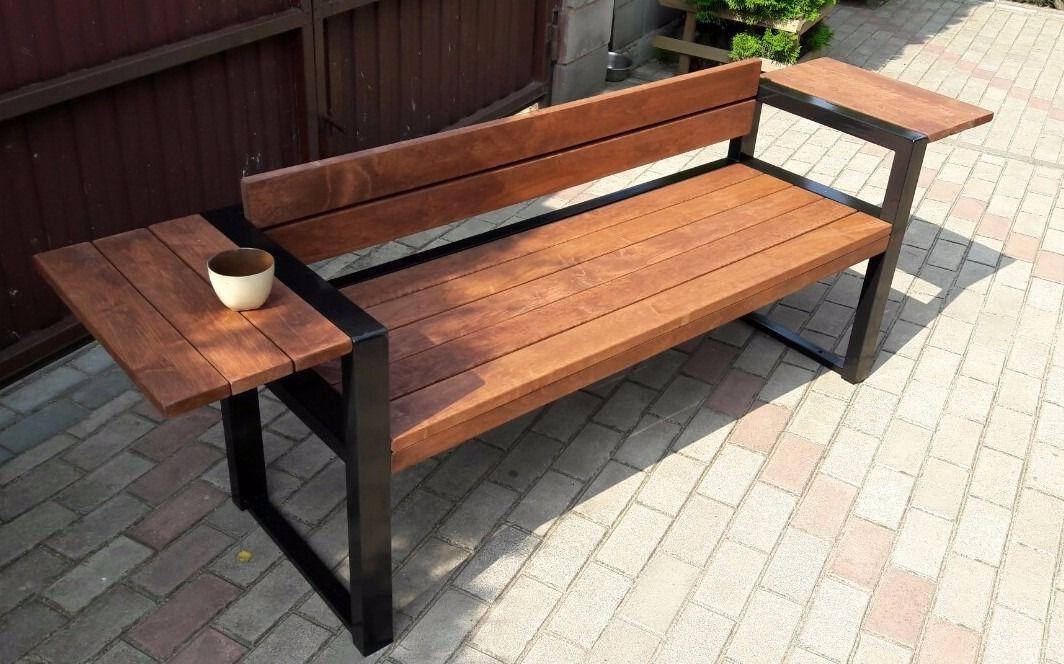 Pin de Suton Khoonpiluek en Furniture idea Pinterest Bancos - como hacer bancas de madera para jardin