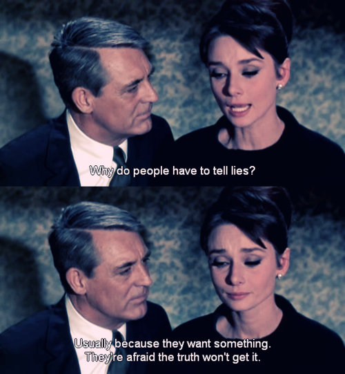 Charade - 1963, next time im at my parents' im watching this with a cup of coffee
