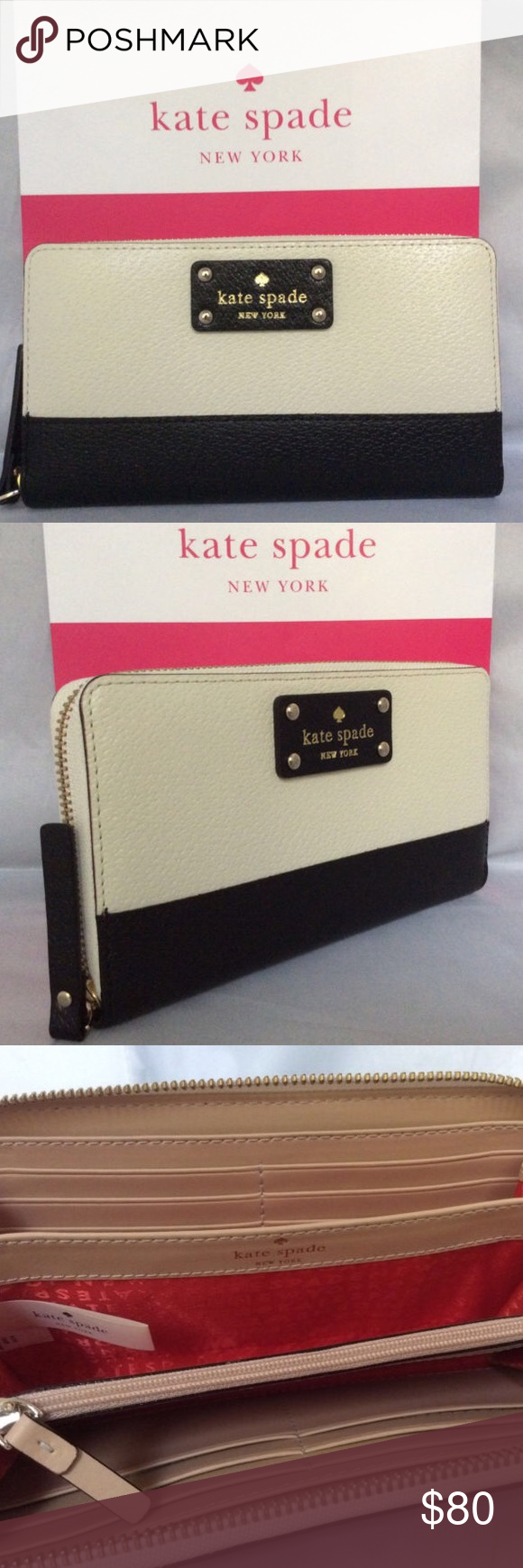 Kate Spade Berkeley Zip Wallet Used a few time, excellent condition. Many credit card slots! kate spade Bags Wallets