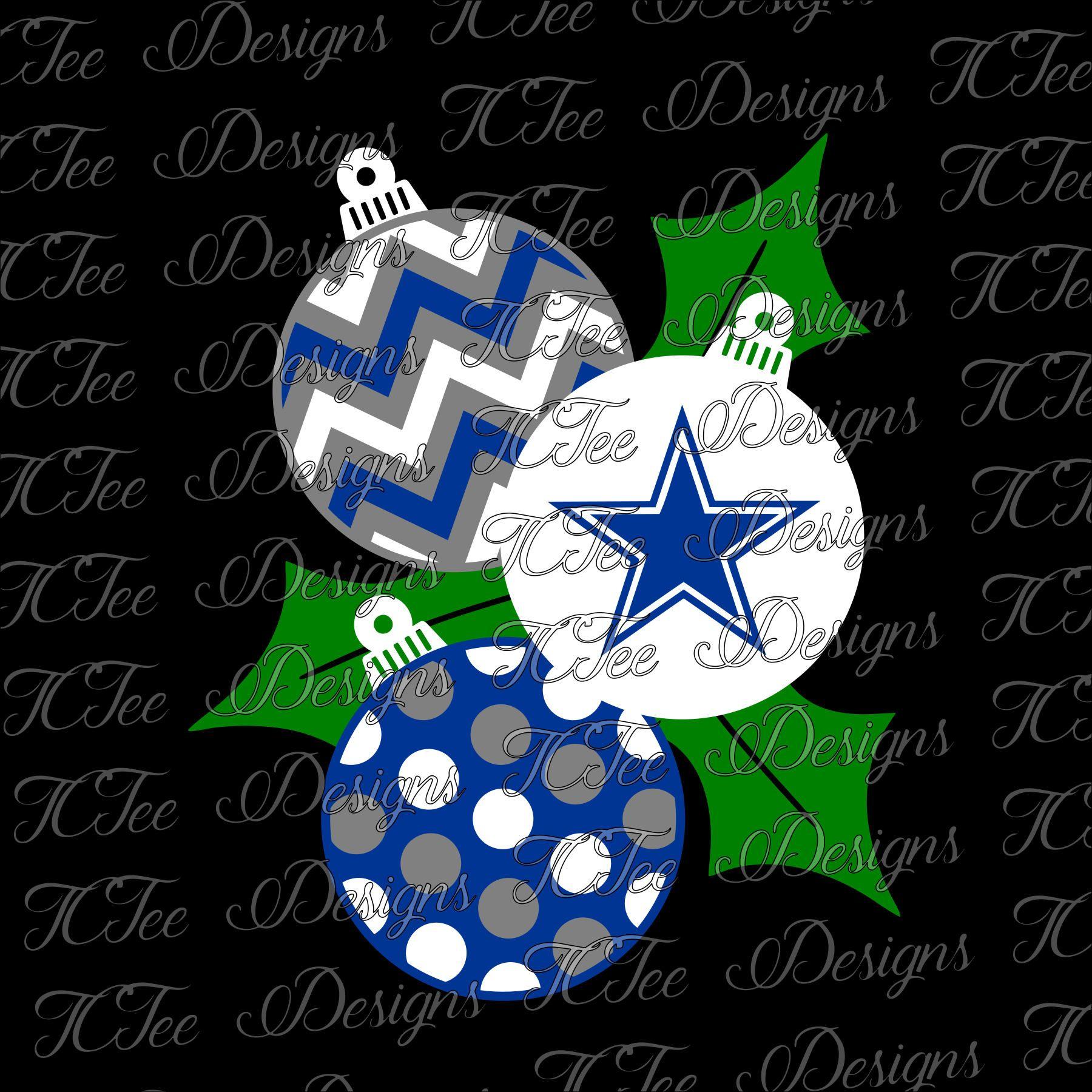 Cowboys Christmas Ornaments Dallas Cowboys Football