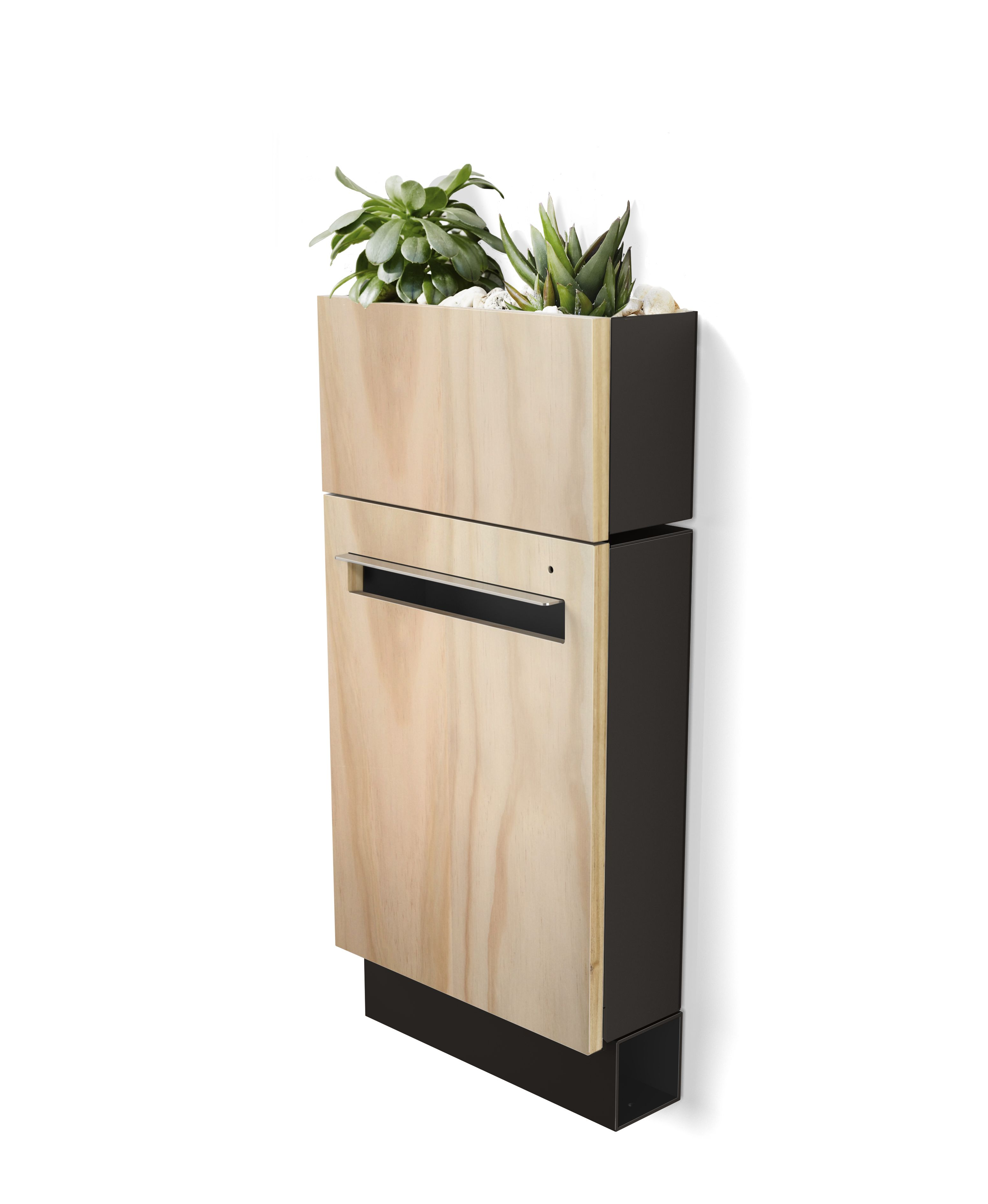 Javi Wall Mount Letterbox Planter And Newspaper Holder Modern Mailbox Newspaper Holder Letter Box
