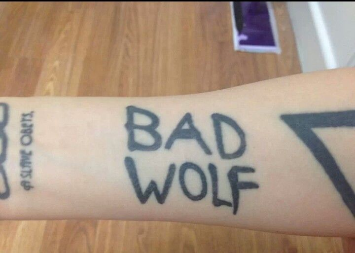 Pin By Cindy Malley On Keep Calm Get Inked Doctor Who Tattoos Bad Wolf Tattoo Tattoos