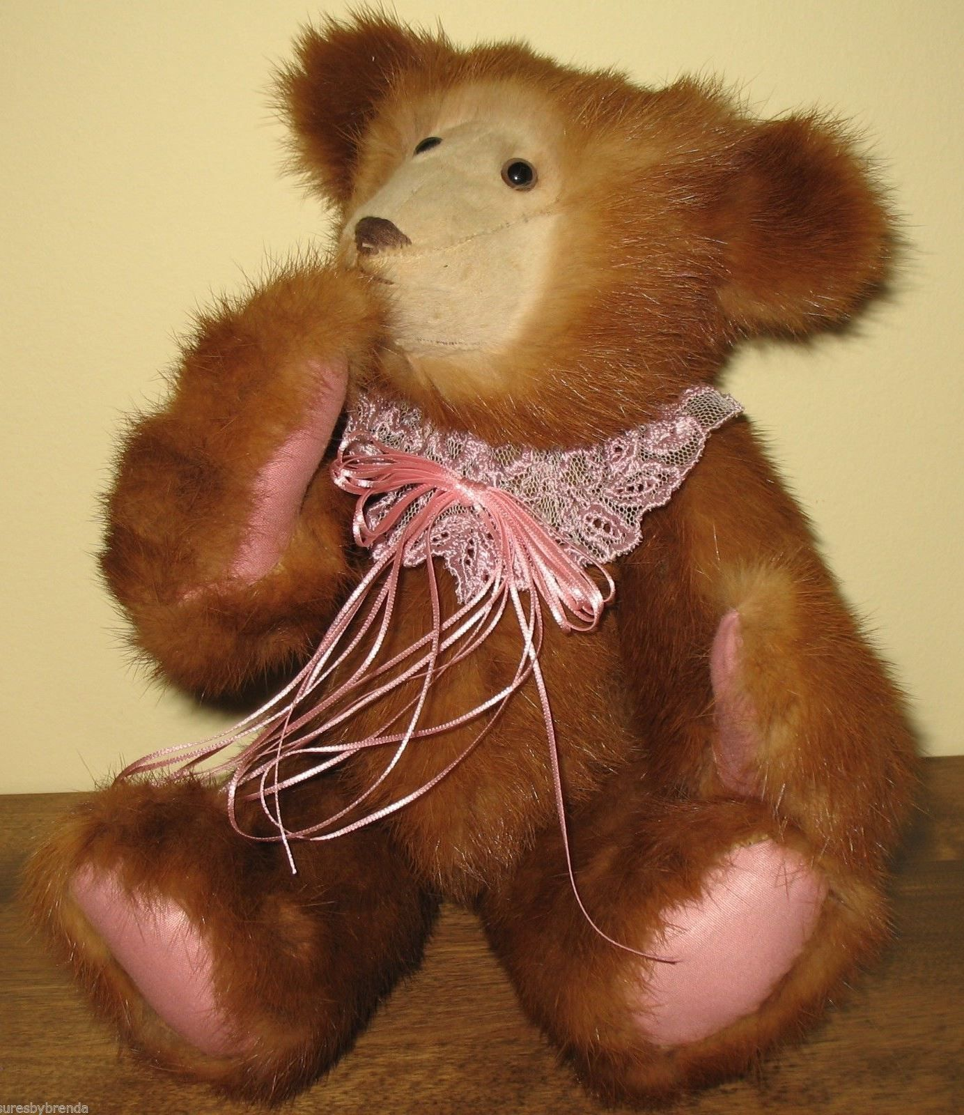 LOVELY Handmade Teddy Bear From Sueu0027s Crafts In Atlantic Canada. Perfect  Gift Idea For Valentineu0027s