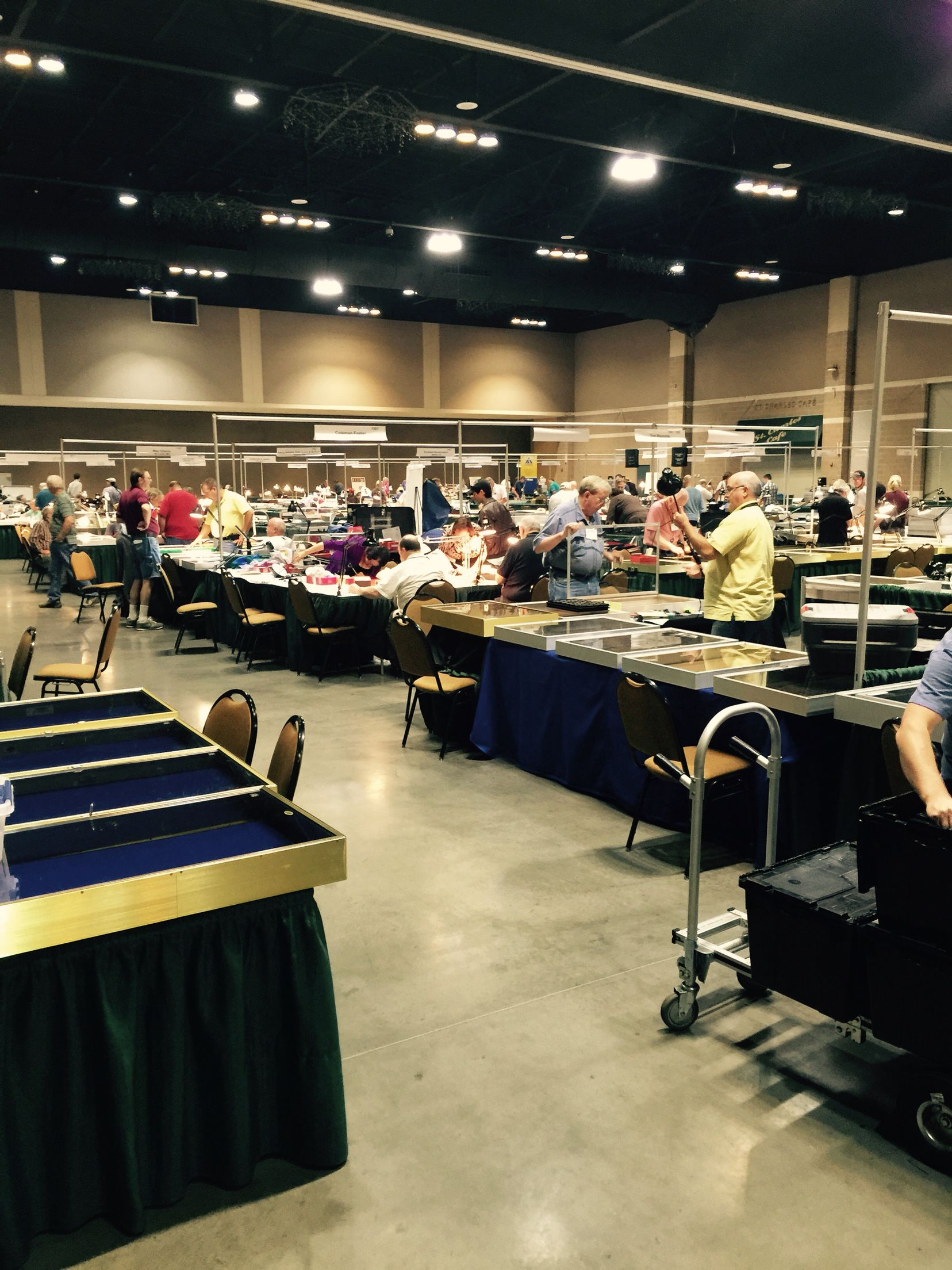 st charles convention center coin show