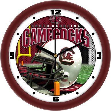 NCAA South Carolina Gamecocks Football Helmet Wall Clock ...