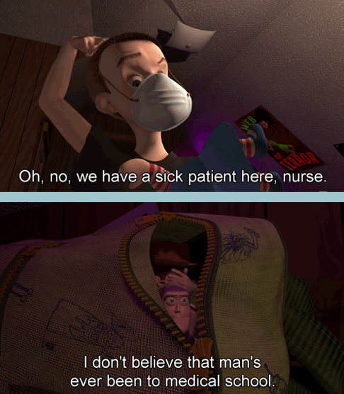 buzz's line here = my favorite quote from any toy story