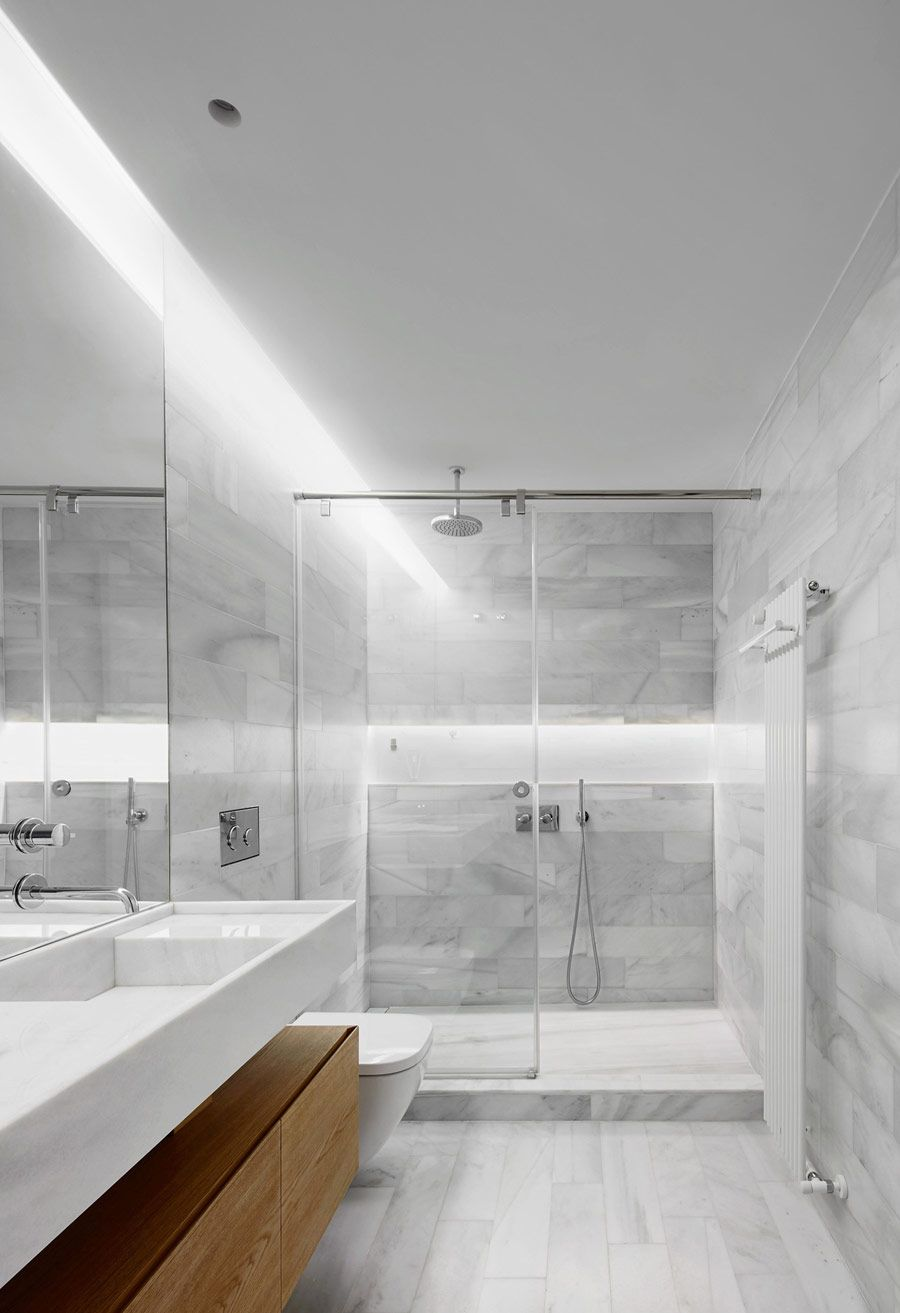 white and gray bathroom idea | Home Decor Ideas | Pinterest | Grey ...