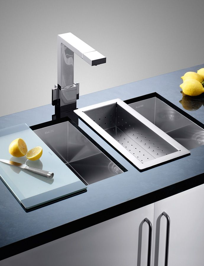 Blanco sink. nestkitchens.co.uk | Interior Directions by Susan ... on