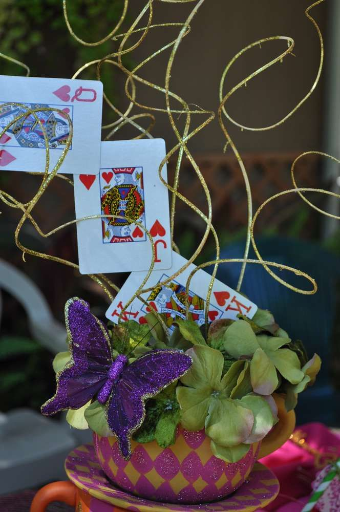 Mad Hatter Tea Party Birthday Party Ideas | Photo 13 of 27