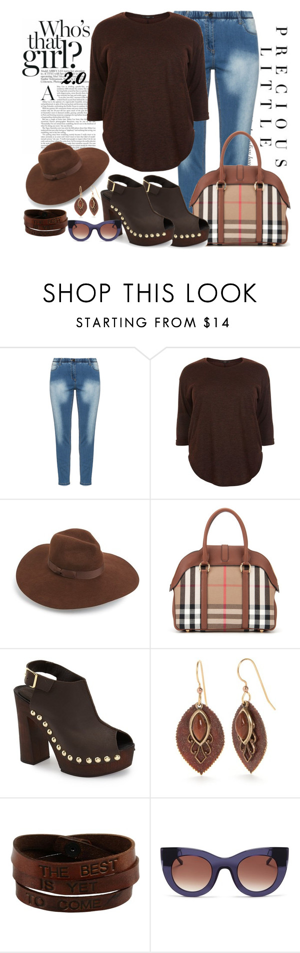 """""""I will not be Denied"""" by ljbminime ❤ liked on Polyvore featuring Agent Provocateur, Zhenzi, New Look, Lack of Color, Burberry, Charles David, Silver Forest, Saddlers Union and Thierry Lasry"""