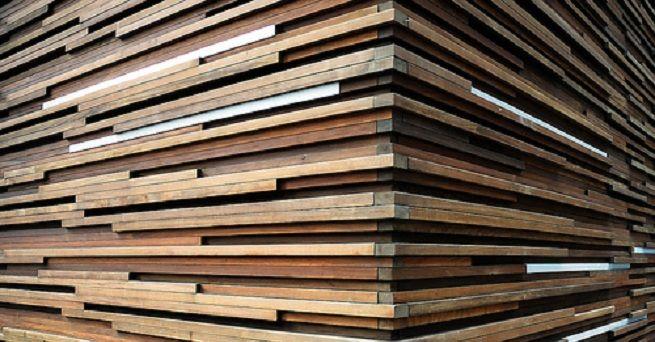 Preparar el revestimiento de paredes de madera Decoracion paredes - decoracion con madera en paredes