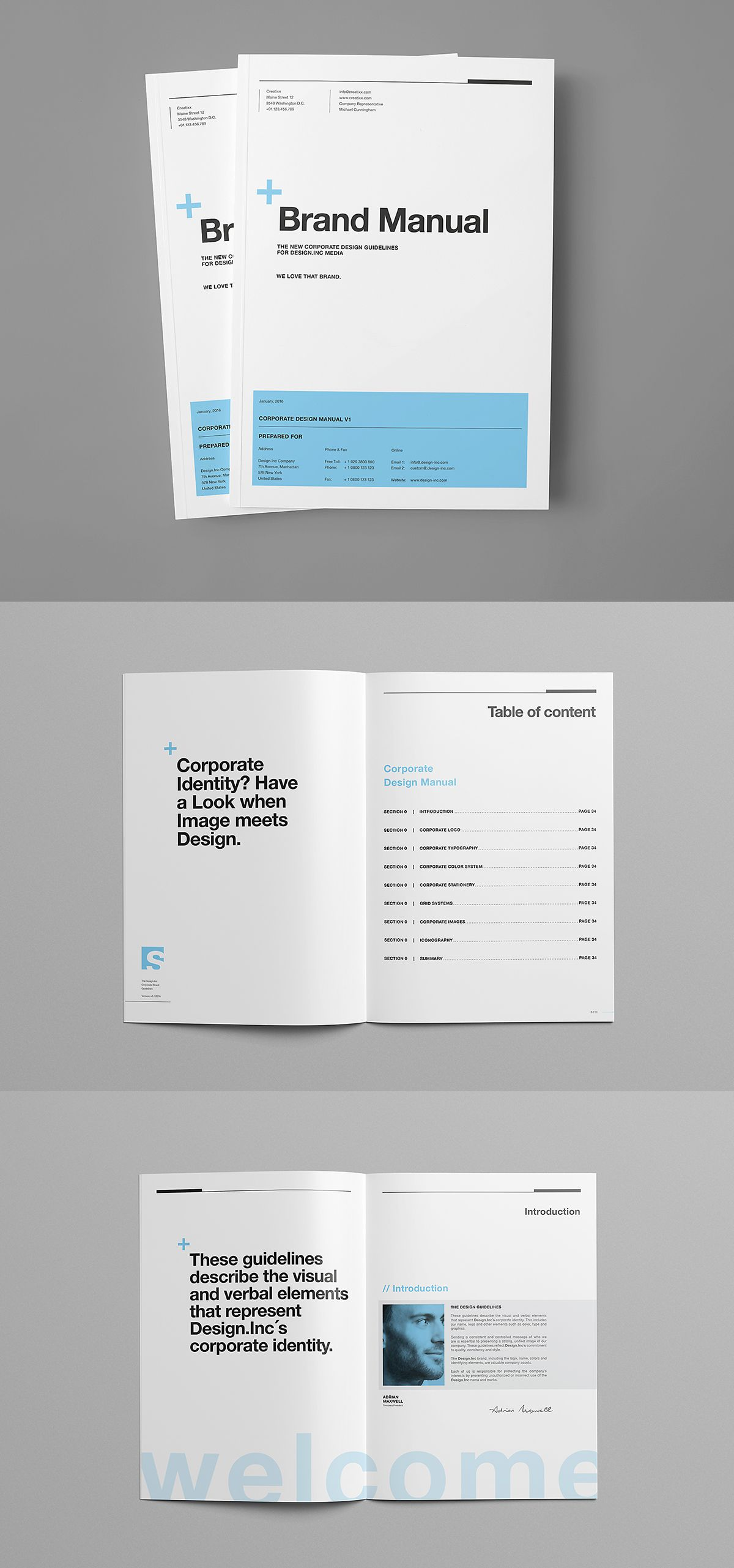 Brand Manual on Behance | design_editorial | Pinterest