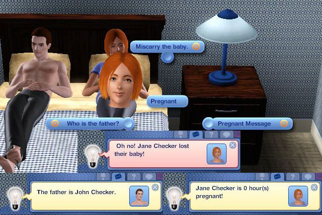 Mod The Sims - Pregnancy Check | Gaming | Sims 3 mods, Sims memes, Sims