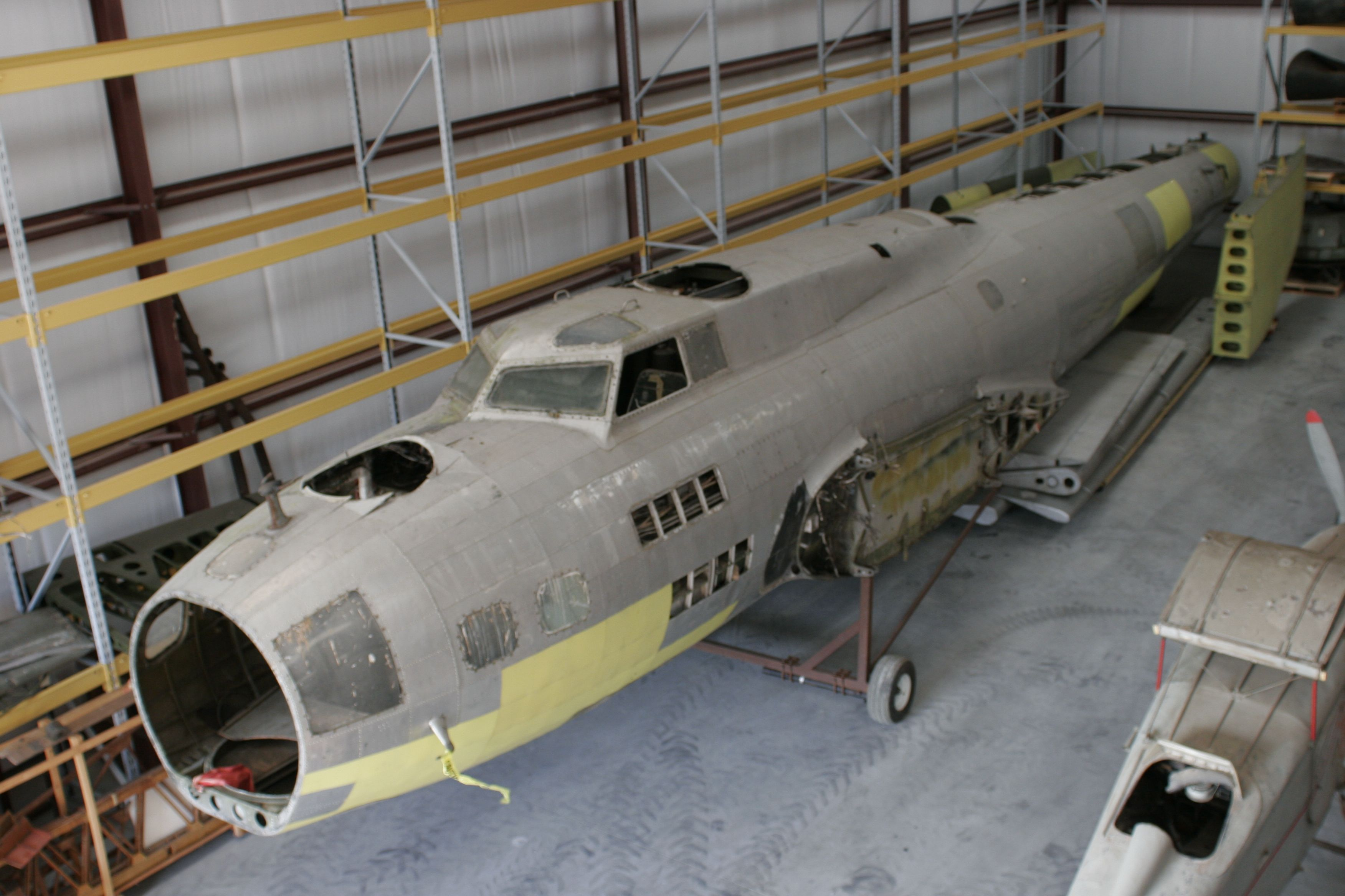 """B17 """"Suzy Q"""" at our Golden Hill storage facility"""