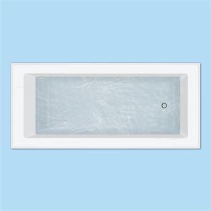 Caroma 380l White Newbury Bath Home Bathroom