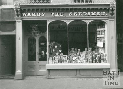 Victorian shop front - Wards The Seedsman, Northgate Street, Bath ...