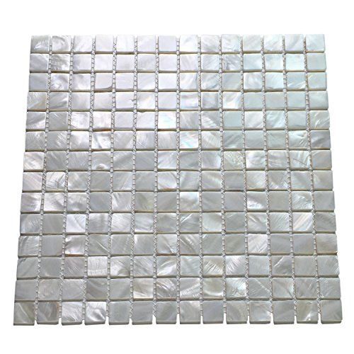 Art3d Mother Of Pearl White Mini Square Mosaic Tile 12 X 12 Check Out This Great Product Note It Is Affiliate Link Shell Mosaic Tile Spa Tile Mosaic Tiles
