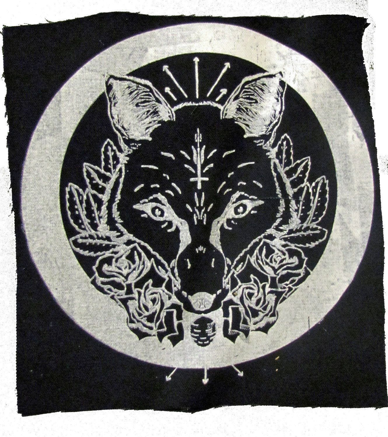 Fox backpatch witch flowers punk upside down cross metal punk fox backpatch witch flowers punk upside down cross metal 700 via etsy biocorpaavc Choice Image