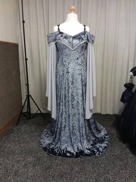 Plus size medieval wedding dress renaissance dress off the ...