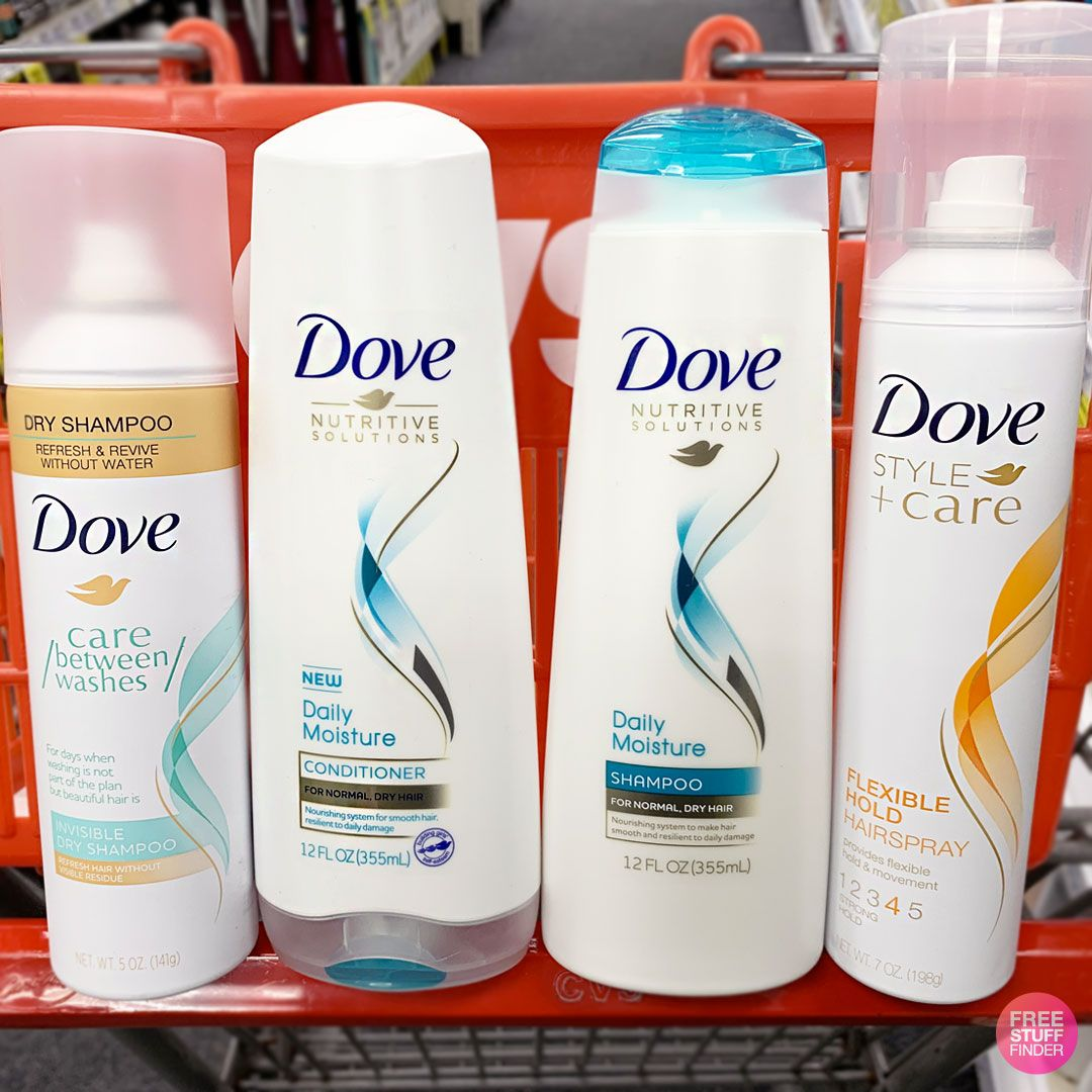 Save on your goto Dove Hair Care at CVS where it is on