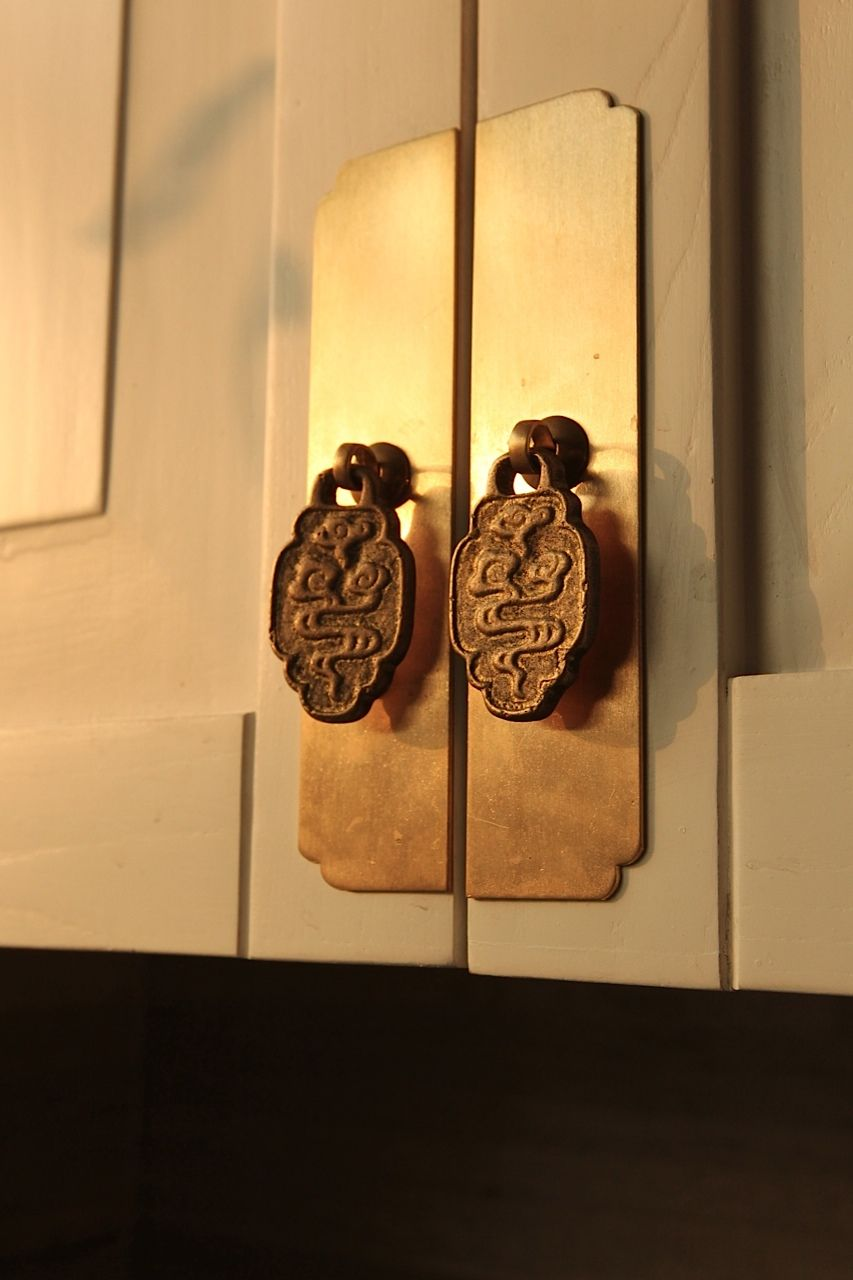 Traditional Chinese Furniture Inspired Cabinet Pulls