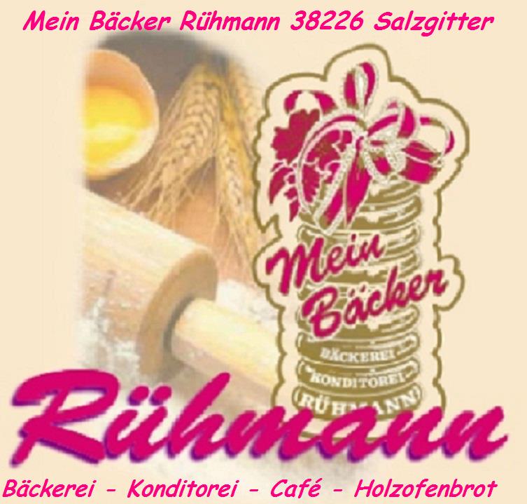 Logo. Mein Bäcker Rühmann Salzgitter