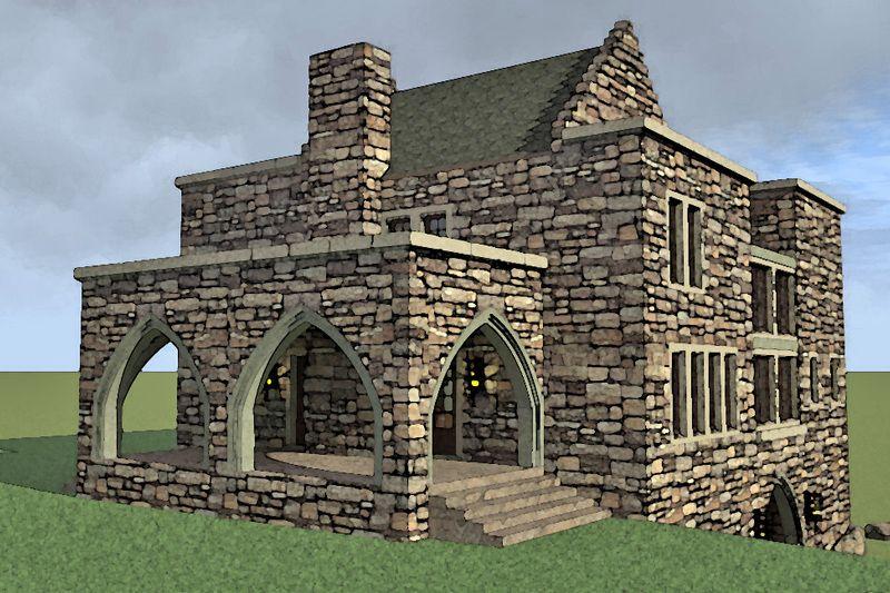 Modern Style House Plan 5 Beds 5 5 Baths 7766 Sq Ft Plan 27 533 Castle House Plans Castle House Castle Plans