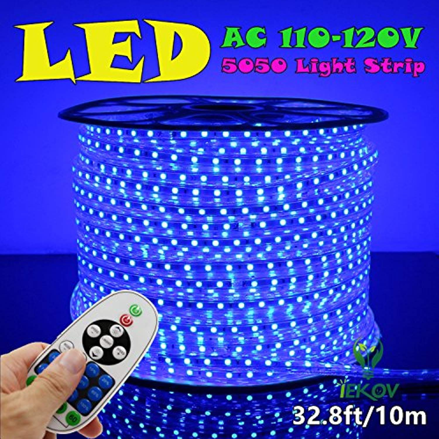 Iekov Trade Ac 110 120v Flexible Led Strip Lights 60 Leds M Dimmable Waterproof 5050 Smd Led R Led Rope Lights Flexible Led Strip Lights Led Strip Lighting