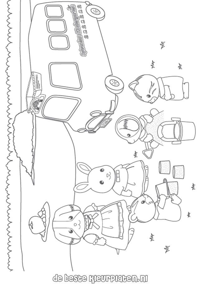 Sylvanian-Families006 coloring pages and you can find many more like ...