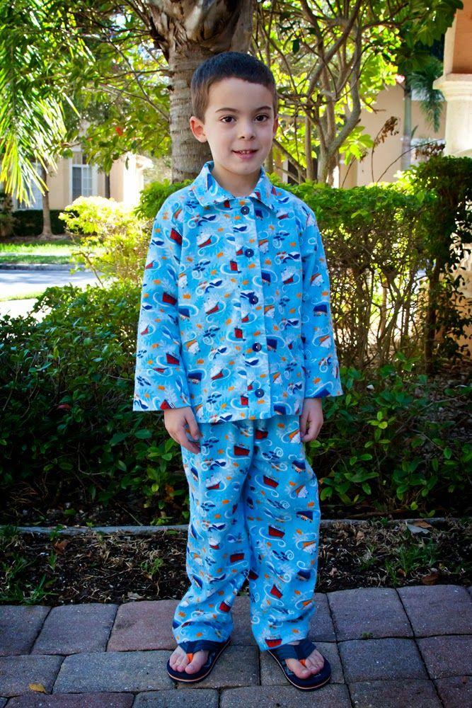 Kids' pajamas. McCall's 6458