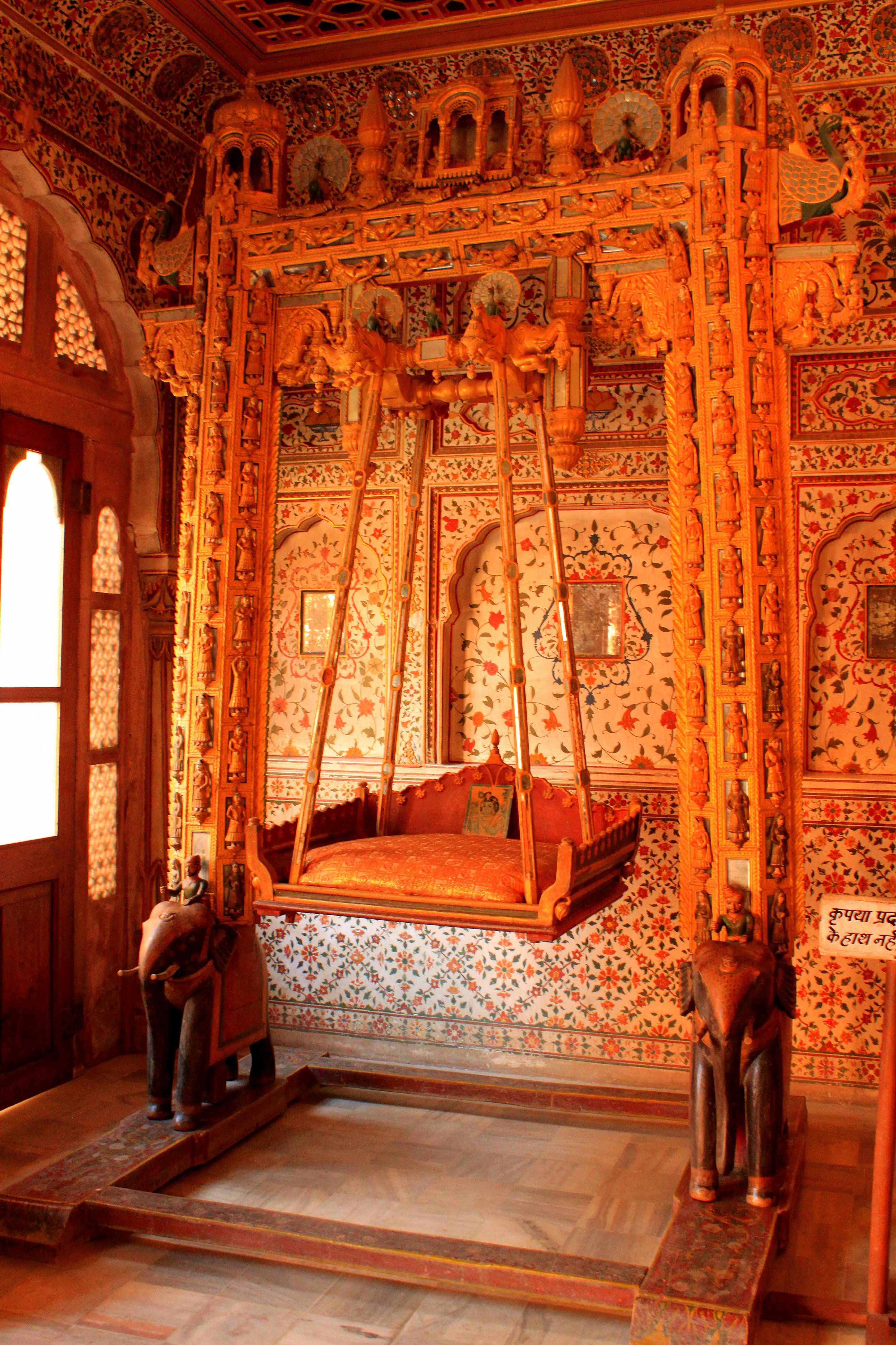 indian palace bedroom Rajastan India | travel in 2019 | Asian interior design