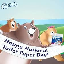 August 26 National Toilet Paper Day   National Days August ...