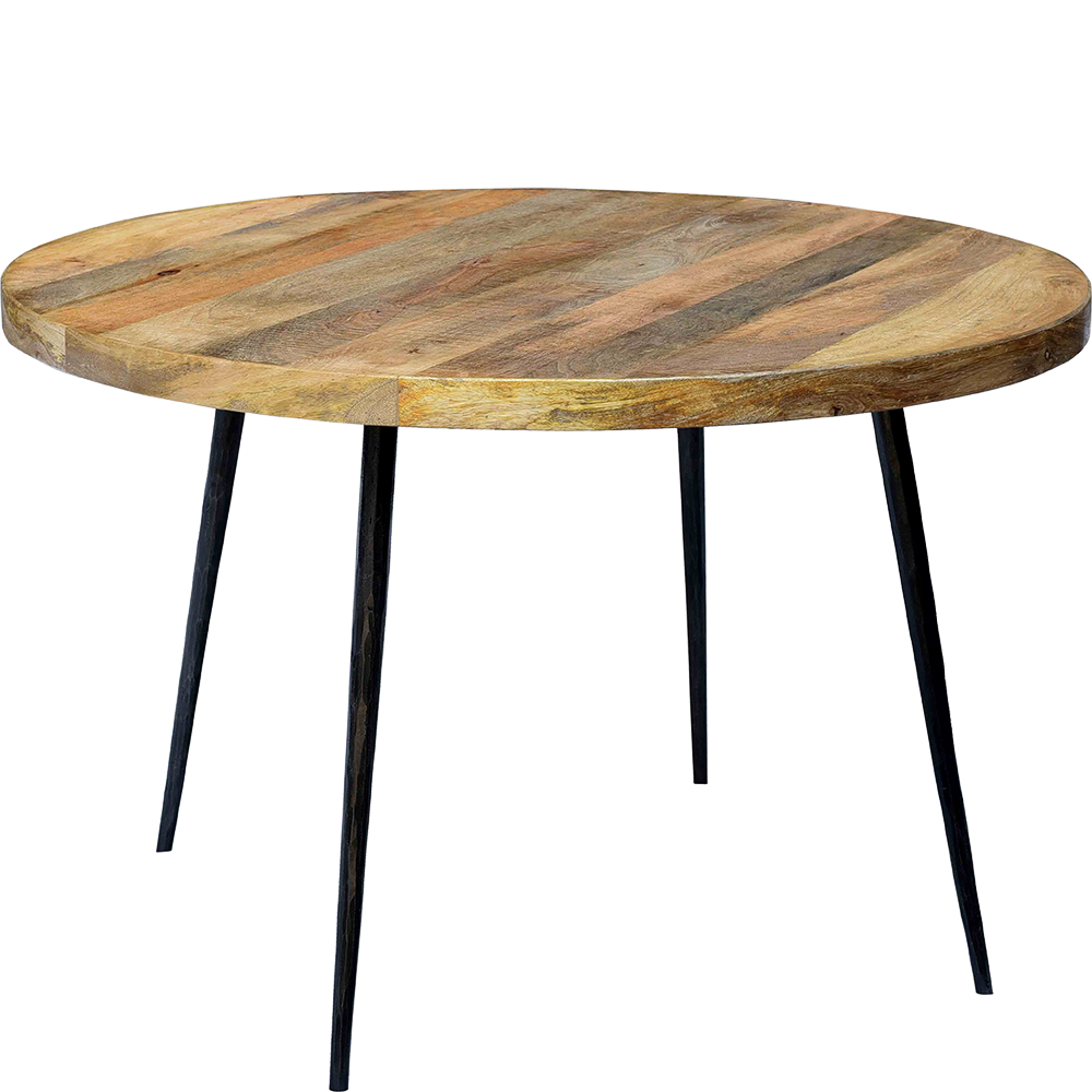 Round Dining Table 120 Cm Round Dining Table In A Lightweight
