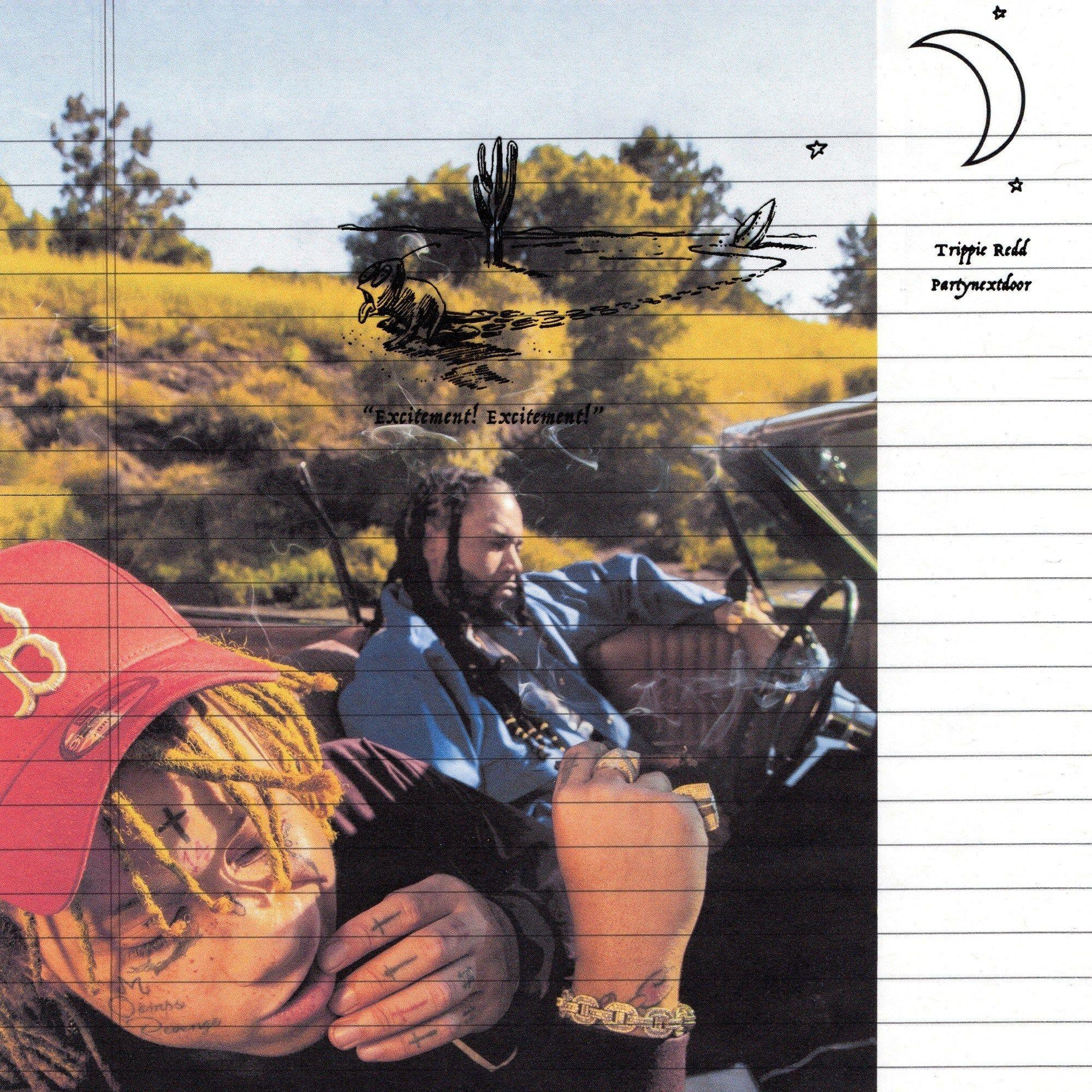 Trippie Redd Partynextdoor Excitement Rap Album Covers Trippie Redd Iconic Album Covers