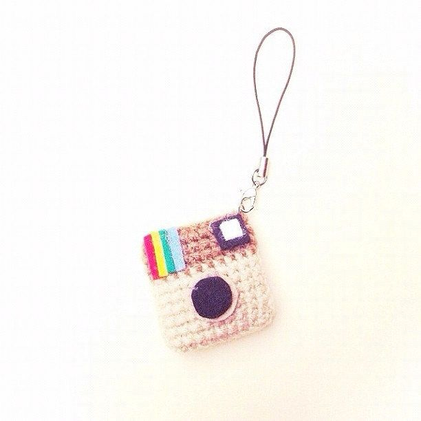 Etsy Transaction - Crochet Mini Instagram Keychain (3 piece)