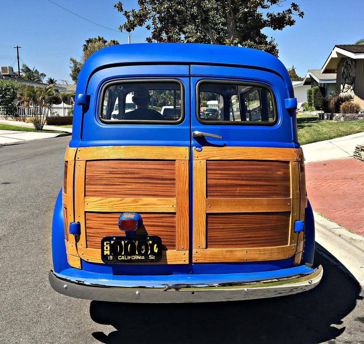 1952 chevrolet suburban woody for sale 1855279 hemmings motor news
