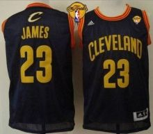 cavaliers 23 lebron james navy blue throwback the finals patch stitched nba jersey